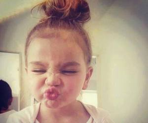 cute, baby, and kiss image