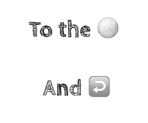 black and white, life, and moon image