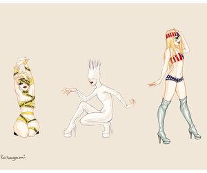 fashion, outfits, and Lady gaga image