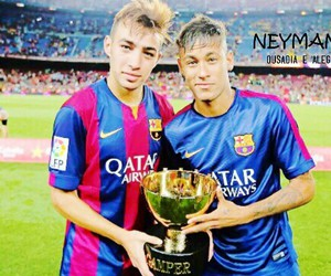neymar, munir, and fcb image