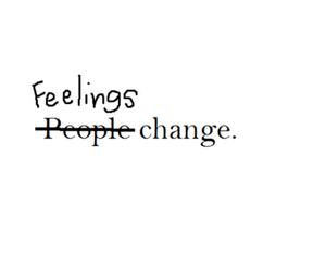 feelings, people, and change image