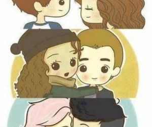 dance, eleanor and louis, and 1d image