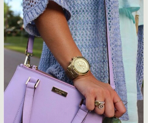 fashion, bag, and purple image