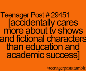 teenager post and fictional characters image