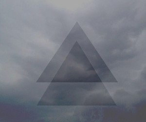 grey, triangle, and hipster triangle image