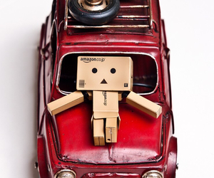 car, red, and danbo image
