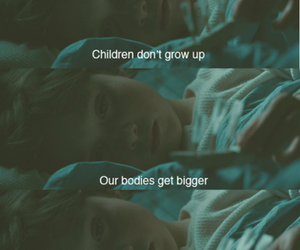 child, quote, and grow up image