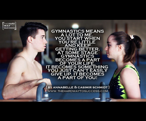 gymnastics and my life image