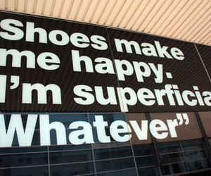 shoes, text, and quote image