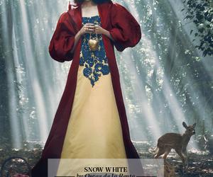 snow white, disney, and oscar de la renta image