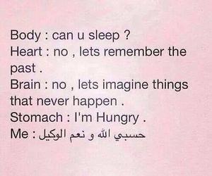 funny, sleep, and body image