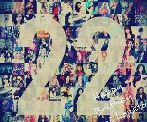 22, demi lovato, and birthday image