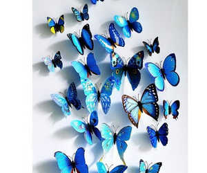 butterfly, fashion, and girl image