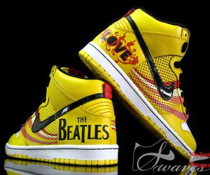 beatles, nike, and the beatles image