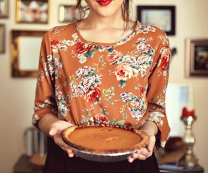 pie, photography, and fall image