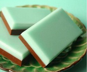 mint, chocolate, and food image