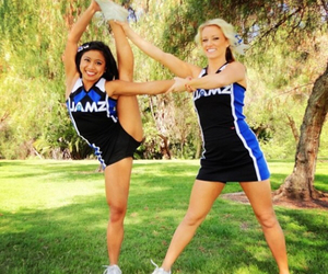 bow and arrow, cheer, and stretch image