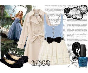 alice, alice in wonderland, and Polyvore image