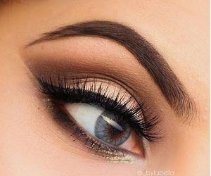 beauty, eye, and make up image