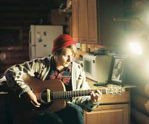 guitar, guy, and music image