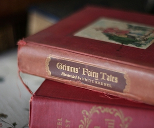book, grimm, and fairy tale image