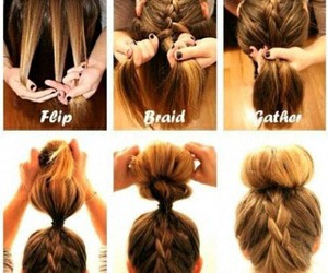 cool, blonde, and braid image