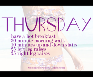 sport, thursday, and workout image