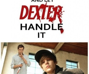 Dexter, funny, and keep calm image