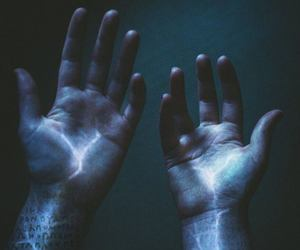 hands, power, and magic image