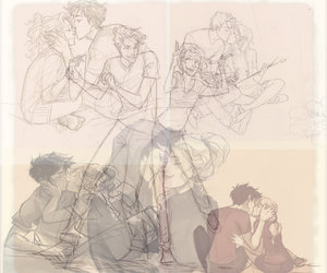 Collage, percy jackson, and percabeth image