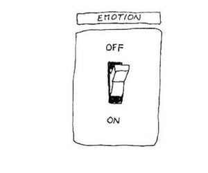 emotions, off, and on image