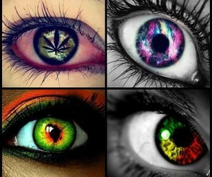 color, cool, and eyes image