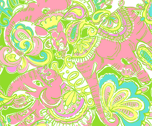 wallpaper and lilly pulitzer image