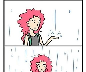 hair, curly, and problem image