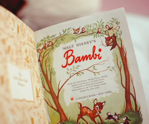 book, bambi, and disney image