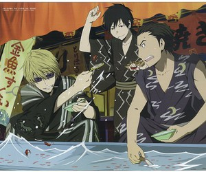 anime, shizuo, and durarara!! image