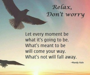 life, quote, and relax image