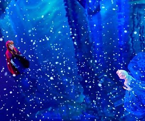 frozen, sisters, and snow image