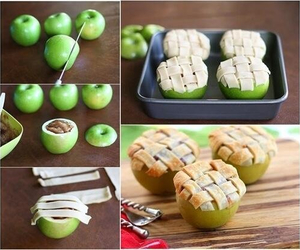 diy, apple, and food image