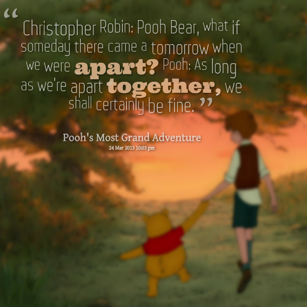 Christopher Robin Quotes   Quotes From Elliot Green Christopher Robin Pooh Bear What If