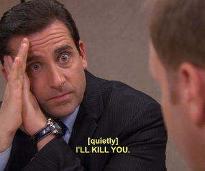 the office, funny, and kill image