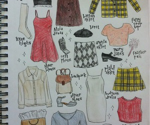 fashion, Clueless, and cher horowitz image