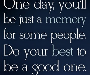 quote, memories, and good image