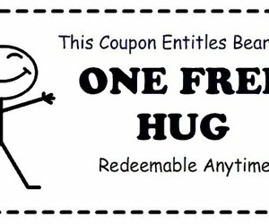 free, hug, and anytime image