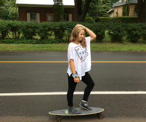hobby, longboard, and penny image