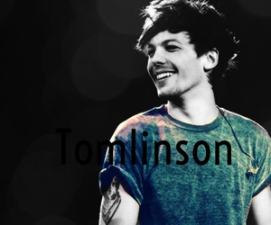 louis, smile, and colour splash image