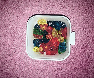 candy, sweet, and gummie bear image
