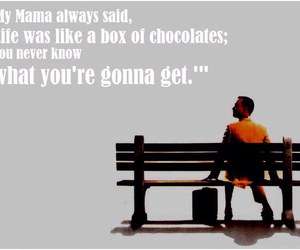 forrest gump, quote, and life image