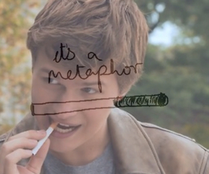cigarette, the fault in our stars, and metaphor image