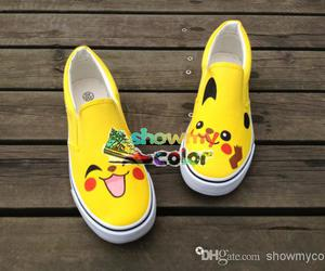 pikachu, customized shoes, and personalized gifts image